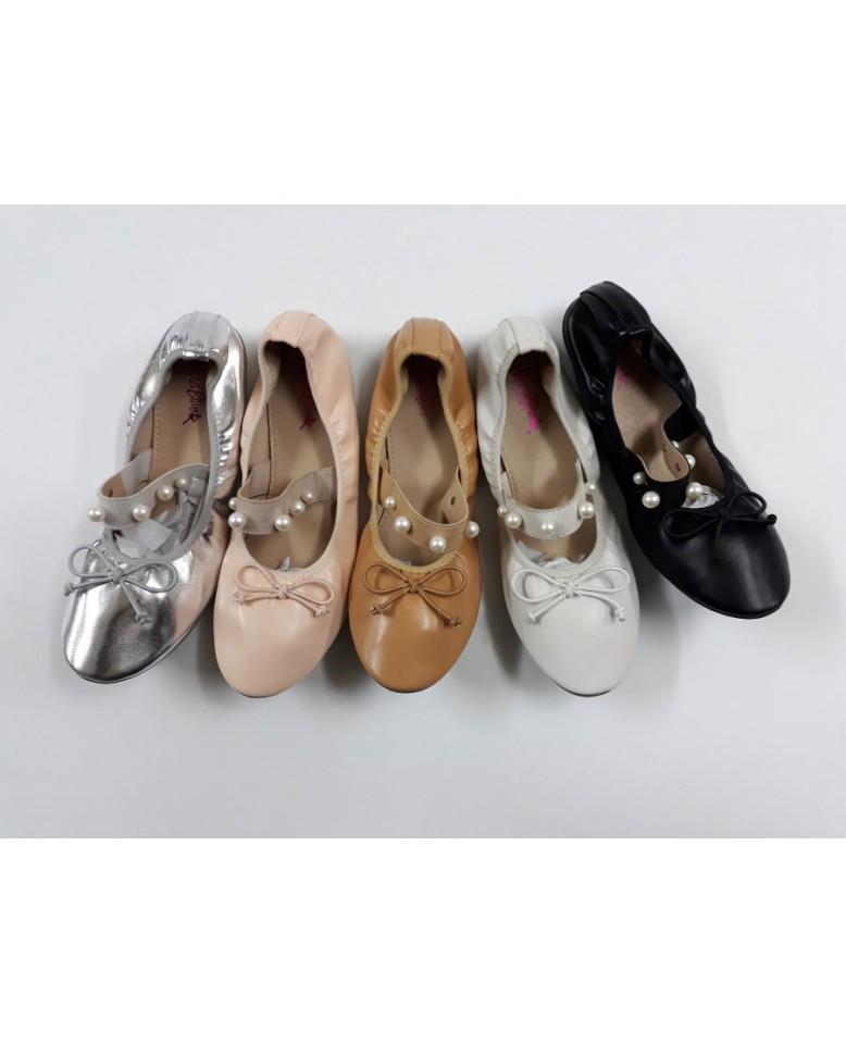 Γυναικείο παπούτσι Μπαλαρίνα μπαρέτα 97b728fc299